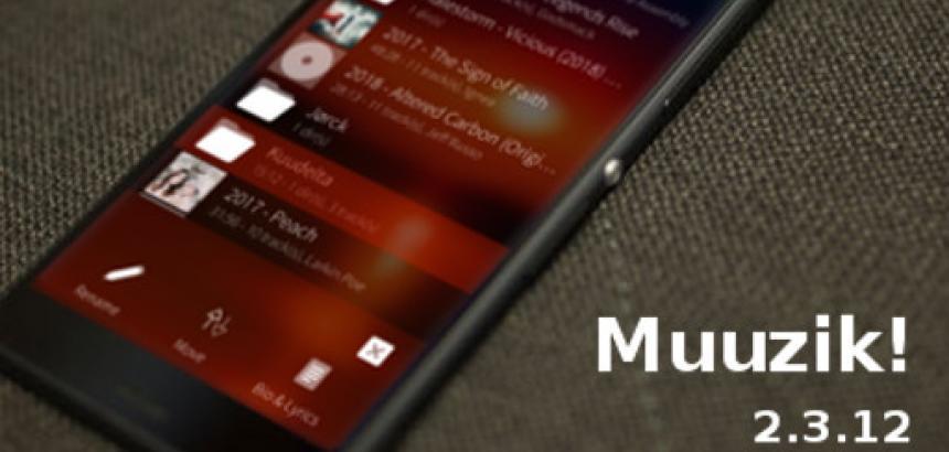 Muzzik ! update 2.4.8